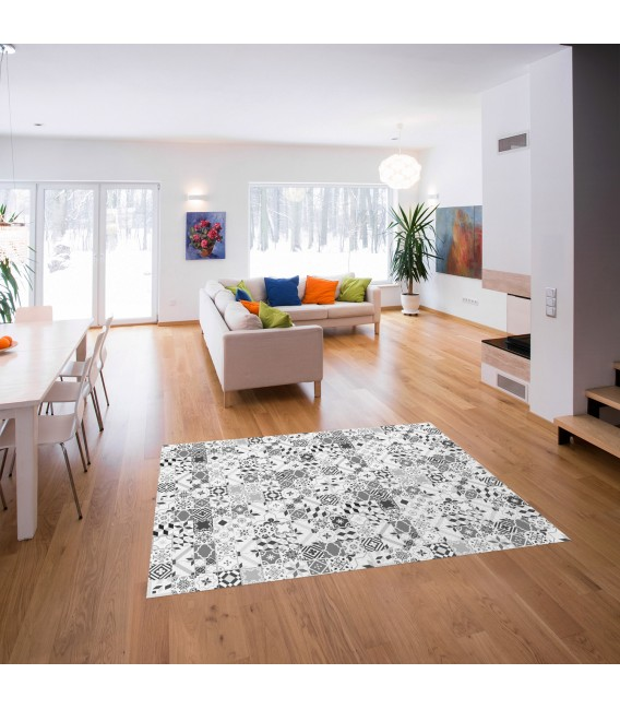 VINYL CARPET  PATCHWORK