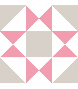 PACK 12 GEOMETRIC ADHESIVE TILES